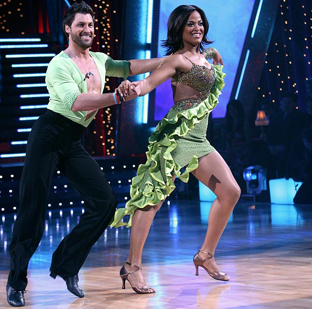 The retired professional boxer finished in 3rd place with dancing partner Maksim Chmerkovskiy.