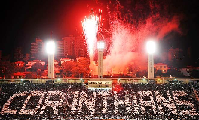 Corinthians won the Copa Libertadores in 2012.