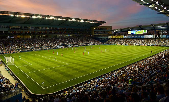 Livestrong Park, opened in 2011, is one of the most player-friendly venues in MLS.