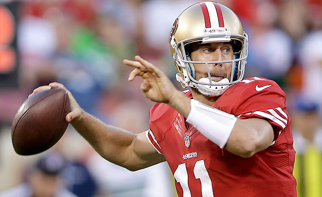 Since the start of the 2012 season, Alex Smith has posted a 95.1 rating and 64.3 completion percentage.