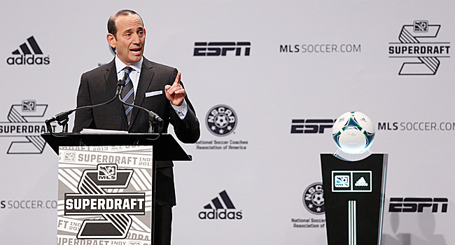 The timeline on the plans for growing MLS internationally was supposed to coincide with U.S. Soccer entering a successful bid for the 2022 World Cup.