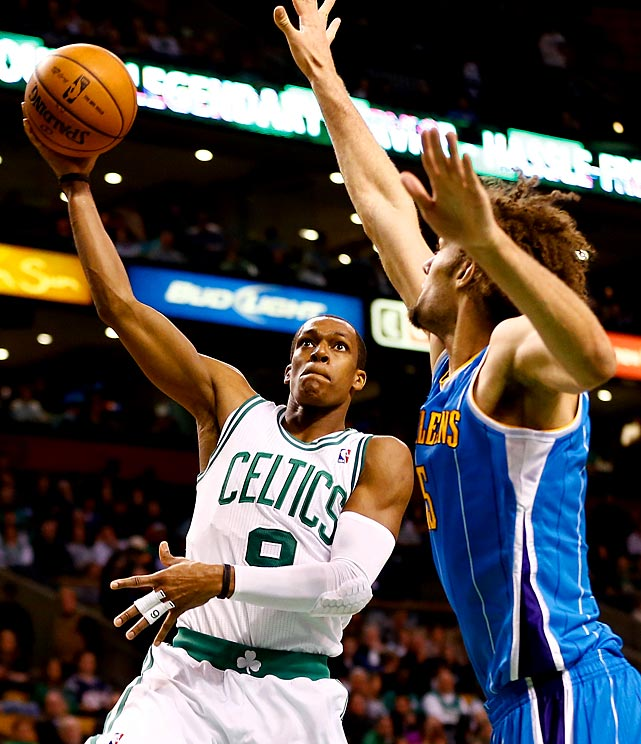 After Rajon Rondo injured his knee in a loss to the Atlanta Hawks, the Boston Celtics announced he would miss the rest of the season with a torn ACL in his right knee. Although the injury was initially considered a hyperextension, an MRI revealed the greater severity, forcing Rondo to undergo season-ending surgery. The stunning news came as the Celtics clung to the No. 8 seed in the Eastern Conference playoffs. The four-time All-Star had been averaging 13.7 points with a league-leading 11.1 assists along with 5.6 rebounds and 1.8 steals.
