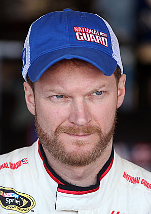Dale Earnhardt is toughing out a rough run that began late in last season's Chase.