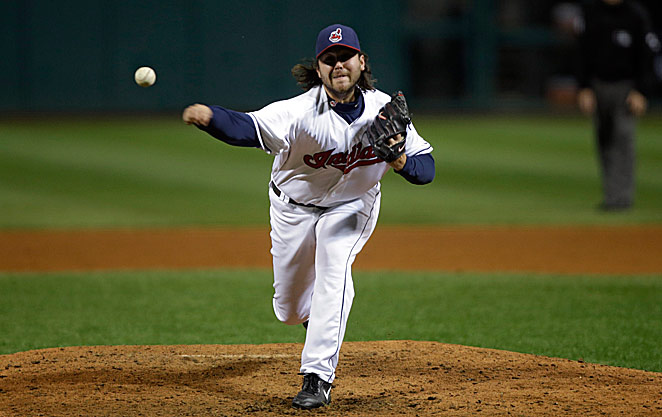 Closer Chris Perez had wanted to pitch for the U.S. in the World Baseball Classic.