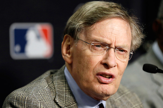 Bud Selig said there's 'no question' he'd like to see tougher penalties for first-time drug offenders.