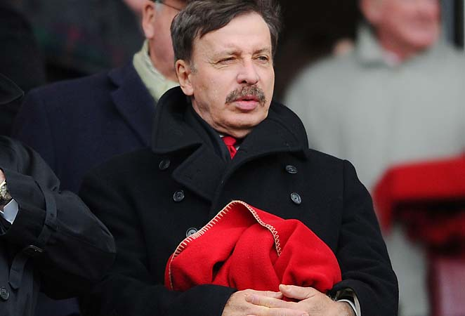 Stan Kroenke oversees an Arsenal club that's not likely to make the Champions League.