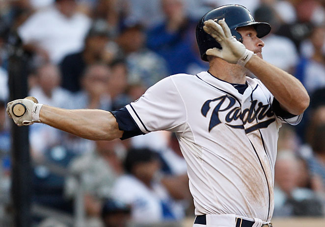 Chase Headley erupted for 31 home runs in 2012 after hitting just four the season before..