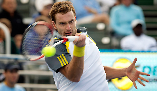 Ernests Gulbis continued his dominance at Delray Beach by clinching his second title.