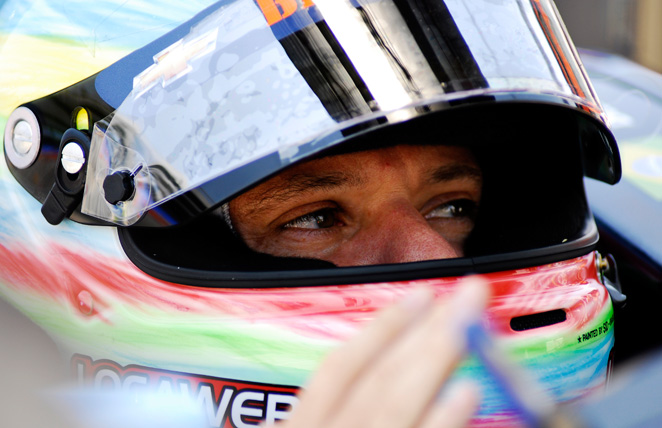 Rubens Barrichello, seen here in 2012, is attempting an unlikely transition to stock car racing.