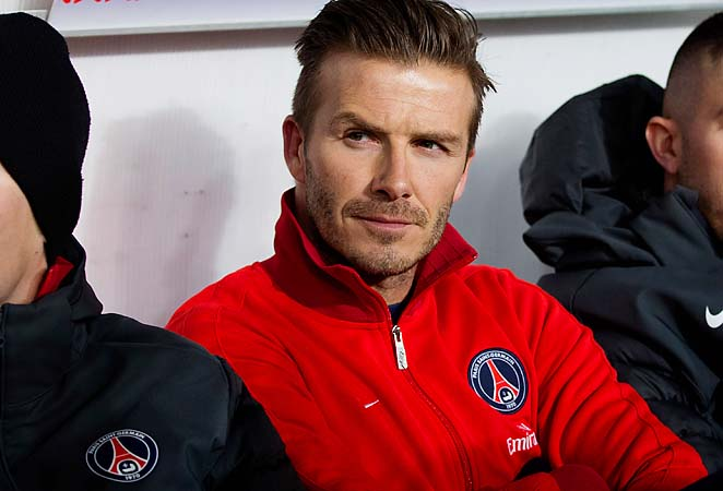 David Beckham has expressed an option of staying with PSG past June.