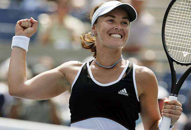 Martina Hingis spent more than 200 weeks at No. 1 and won five Grand Slam singles titles.
