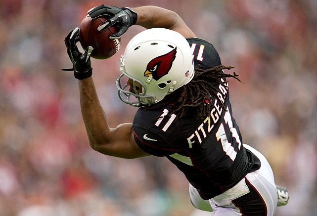 Any receiver who can continue to dominate with the revolving door of Cardinals quarterbacks certainly deserves his money. From 2007 to 2011, Larry Fitzgerald topped 1,000 receiving yards each year and led the NFL in receiving touchdowns twice. Arizona's quarterbacking issues finally caught up to Fitzgerald last season, when he caught 71 balls for 798 yards, his worst year since his rookie season. An eight-year deal worth $113 million might help him put up with the Cardinals' passing problems.