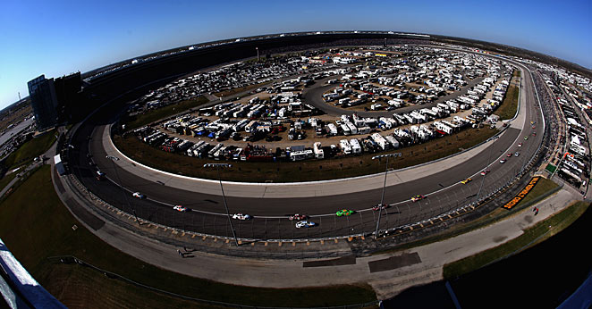 Gunning their engines: The NRA 500 is coming to Texas Motor Speedway in April.