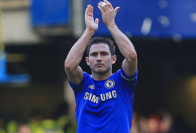 Frank Lampard and Chelsea have fallen into fourth place in the Premier League.