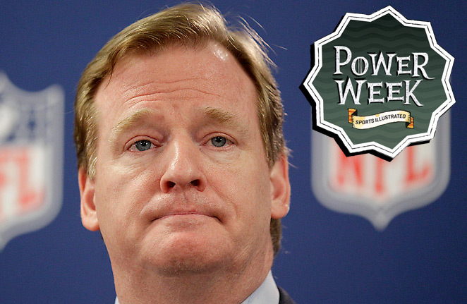 In eight seasons on the job, Roger Goodell has navigated the league through player and ref lockouts.