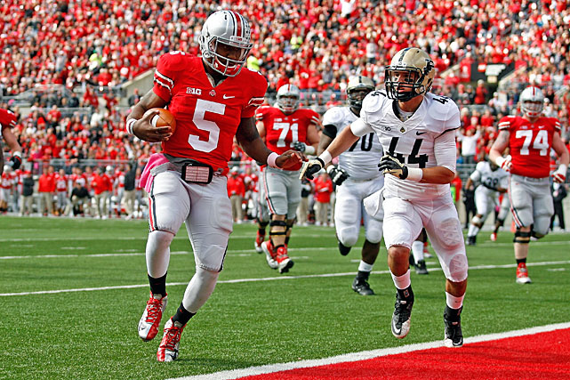 Miller was the driving force behind the Buckeyes' unbeaten 2012 campaign. The Big Ten Offensive Player of the Year was a skilled runner from the moment he stepped onto Ohio State's campus, but he greatly improved his passing game in his sophomore season, throwing for 2,039 yards. Now that the Buckeyes have something to play for, the buzz surrounding Miller should only increase in 2013.