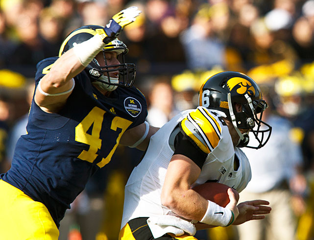 Ryan was among the top run-stopping linebackers in the Big Ten in 2012, racking up 88 tackles, 16 tackles for loss, 4.5 sacks and a conference-best four forced fumbles. The second-team All-Big Ten selection now has 27 tackles for loss in his two-year Michigan career. Ryan will likely take on more of a leadership role among the Wolverines' linebacking corps now that Kenny Demens is gone.