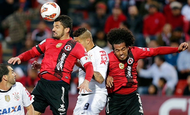 Javier Gandolfi scored Club Tijuana's only goal in their 1-0 win over Corinthians. Americans Joe Corona and Sam Garza also played in the match.