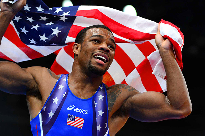 Save Olympic Wrestling Cover Photo Gold medalist J...