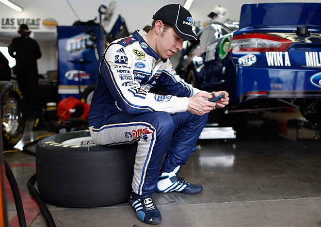 This time, rain proved to be a help for Brad Keselowski, who sits third in the points after two Cup races.