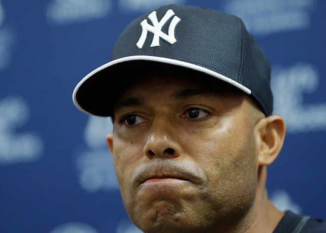 Mariano Rivera officially announced that he will retire at the end of the 2013 season today in Tampa.