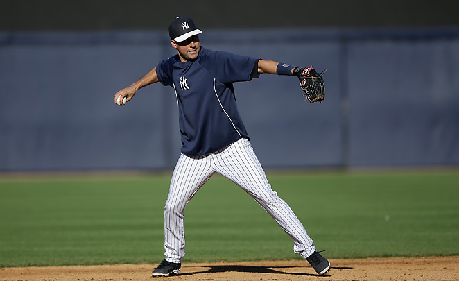 Derek Jeter's recovery from a broken ankle continues as he was penciled into the lineup on Saturday.