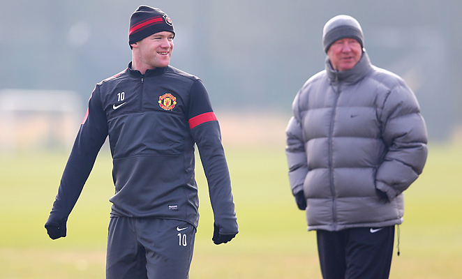 Wayne Rooney did not start Manchester United's Champions League game against Real Madrid, leading to speculation about his future at the club where he has played since signing from Everton in 2004.