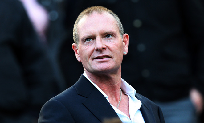 Paul Gascoigne fell into a coma for three days after suffering from alcohol withdrawal.