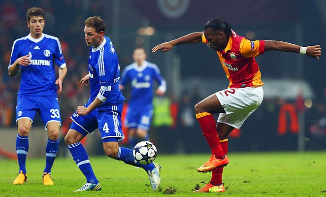 Didier Drogba and Galatasaray are looking for the club's first quarterfinal since 2001.