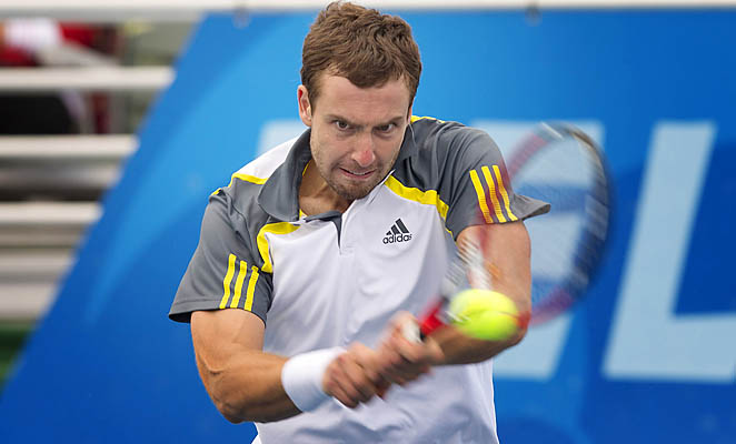 Ernests Gulbis has risen from No. 136 to No. 67 since the start of the year.