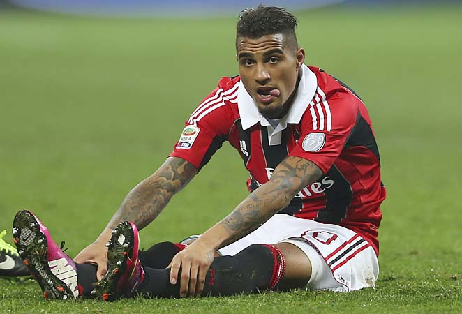 Kevin-Prince Boateng has two goals and three assists in 18 Serie A starts this season.