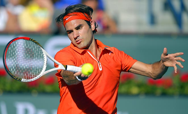 Roger Federer is still looking for his first tournament title of the year.