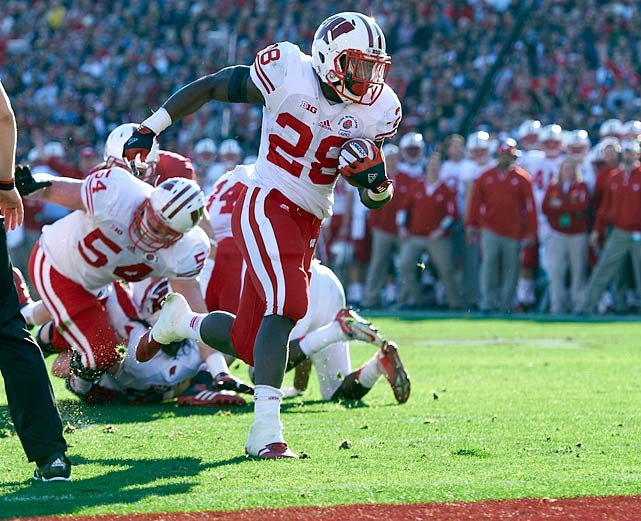 If it's possible to go under the radar while setting the NCAA record for touchdowns, Montee Ball may have done it. Ball lacks a particular trait in which he is truly elite but does everything reasonably well and has a strong track record of college success. He probably would have gone higher in the draft had he entered last year, coming off his Heisman finalist 2011 season.