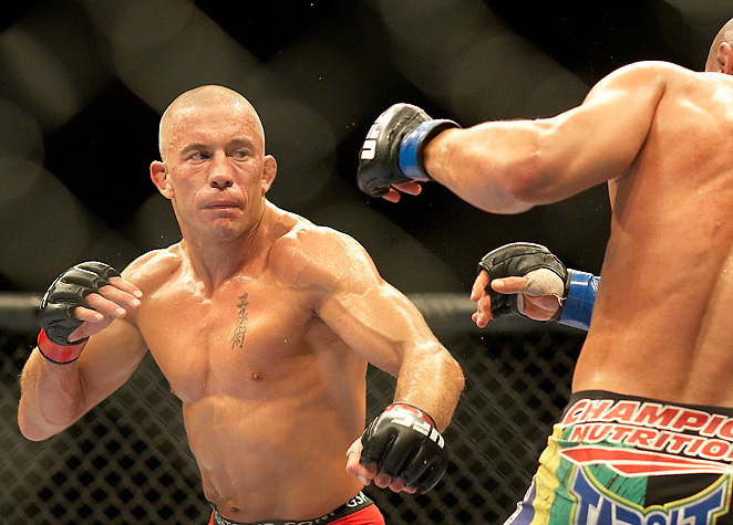 Georges St-Pierre has promised to raise hell on Nick Diaz after Diaz made some bold comments.