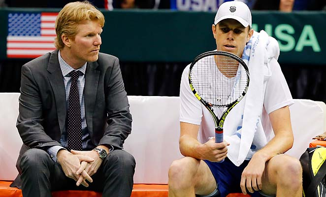 Jim Courier, Sam Querrey and the U.S. beat Brazil in the first round in Jacksonville in February.