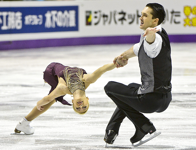 Tatiana Volosozhar and Maxim Trankov have won every competition they've entered this season.