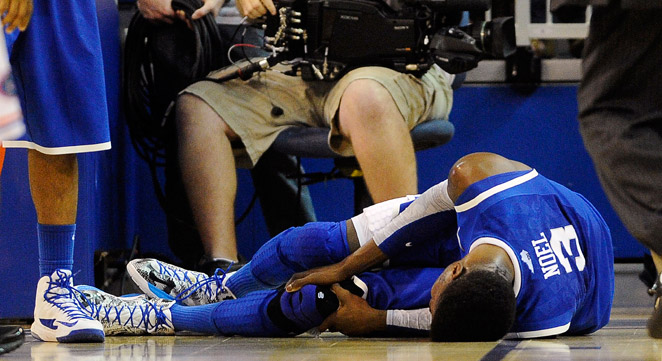 Nerlens Noel tore his left ACL on Feb. 12 in a game against Florida, costing him the rest of the season.