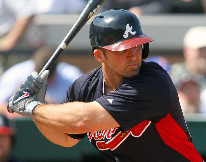 Dan Uggla knows what it's like to be hit in the head but even he isn't sold yet on the new helmets.