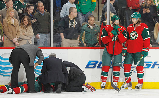 A four-game ban like the one given to Corey Perry won't do much to prevent more scenes like this.