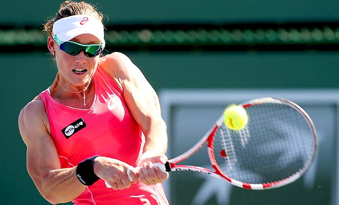 Sam Stosur's best performance at Indian Wells was a semifinal berth in 2010.