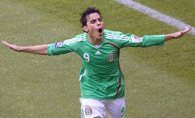 Omar Bravo, 33, played at the 2006 World Cup for Mexico.