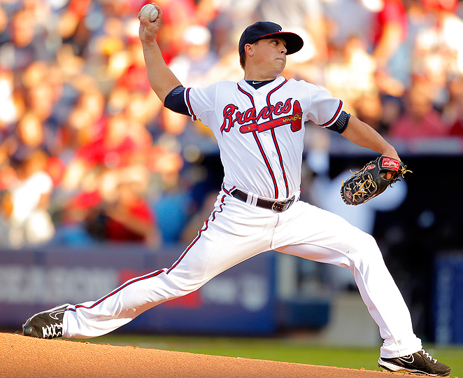 Kris Medlen was a revelation in 2012 and can boost the Braves' pitching by staying healthy all season.