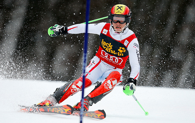Weather canceled the final World Cup speed events, which practically gives Marcel Hirscher the overall World Cup title this year.