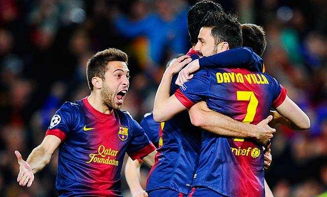 Barcelona overcame a 2-0 first-leg deficit to defeat AC Milan in the round of 16.