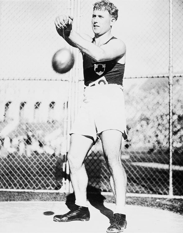 After he and his two brothers paid their own way to go to the 1928 Summer Olympics in Amsterdam, O'Callaghan won the first gold medal for the independent Ireland in the hammer throw. Using the hammer of the then-leader Oissian Skoeld, O'Callaghan recorded a throw of 168 feet and seven inches to raise the Irish flag for the first time at an Olympic medal ceremony. O'Callaghan defended his title four years later, winning the gold medal in Los Angeles.