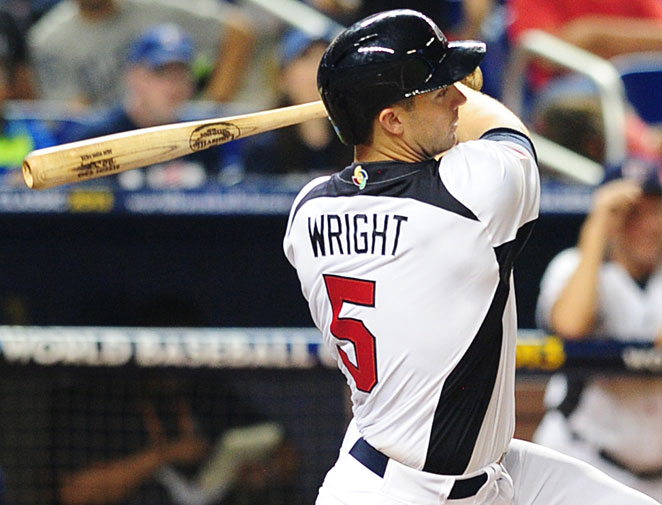 David Wright is not expected to return to Team USA for the rest of the World Baseball Classic.