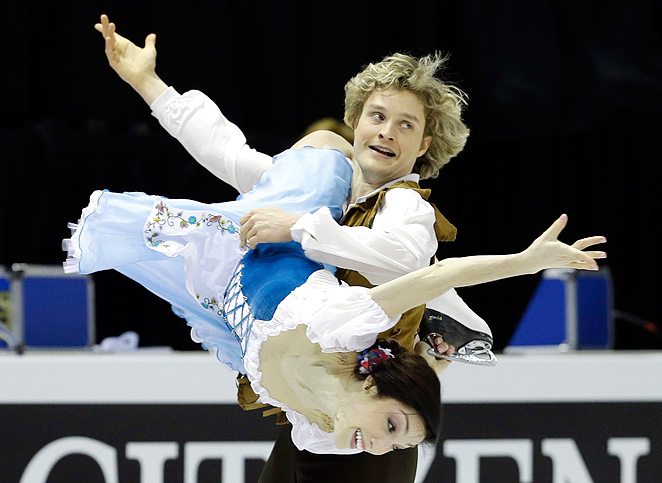 A year before the Olympics, Meryl Davis and Charlie White have established themselves as a favorite to win gold.