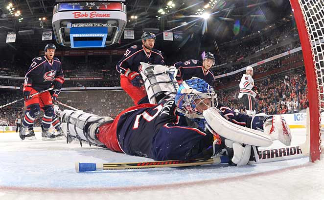 Sergei Bobrovsky is providing the kind of clutch goaltending the Blue Jackets have usually lacked.