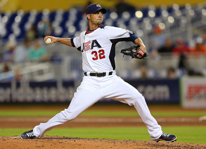 Ryan Vogelsong and the U.S. are done at the World Baseball Classic after a loss to Puerto Rico.