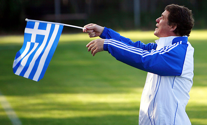 German coach Otto Rehhagel managed Greece to an improbable championship at Euro 2004, and is still considered a Greek national hero.